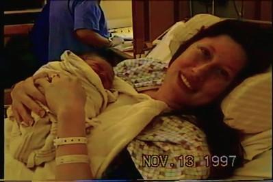 Kyra and Francesca at Hospital