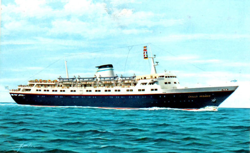 My parents took me on an archaeological trip as a Bar Mitzvah trip.  We sailed the Greek Islands and Turkey on the Stella Oceanis (above), toured Greece, Sicily, mainland Italy, and had a stopover in London.  Wow!