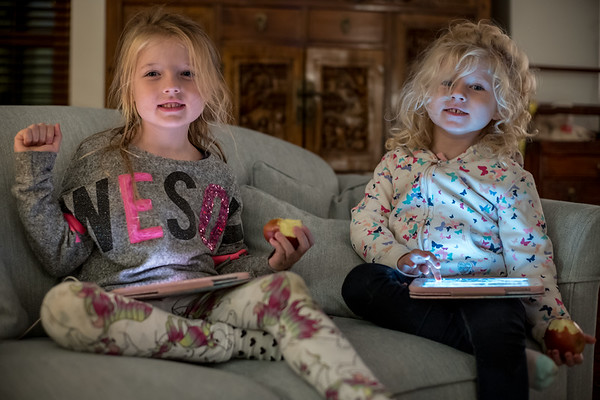 Zoe & Kaylee, here for Christmas :-)