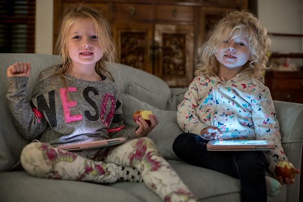 Zoe & Kaylee, here for Christmas :-)