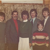 The Family at the Brown Christmas Party - 1983