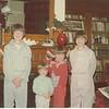 Christmas 1975<br /> Lee, Don, Dave and Ken