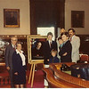 Kennebec County Court House, Augusta, Maine, the hanging of the portrait of Justice Harold C. Marden 19??