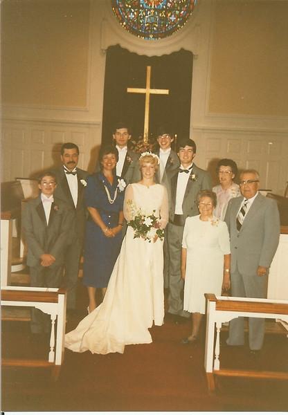 Lee and Bonnie Wedding<br /> UMC Pleasant St., Waterville, Maine