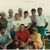 Marden Family Reunion at Ocean Point 1985<br /> <br /> Harold and Maryland Marden<br /> Roberta and Raymond Alden<br /> Robert and Scoop Marden<br /> Donald and Ann Marden