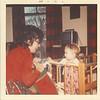 Mom and baby Ken in the Den