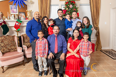 Tharayail Family Christmas Shoot