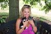Jenny and Her Garden Kittens