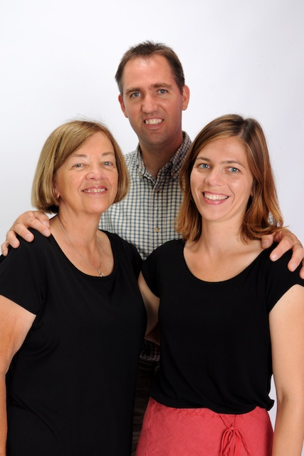 Donna, Neill and Rachel