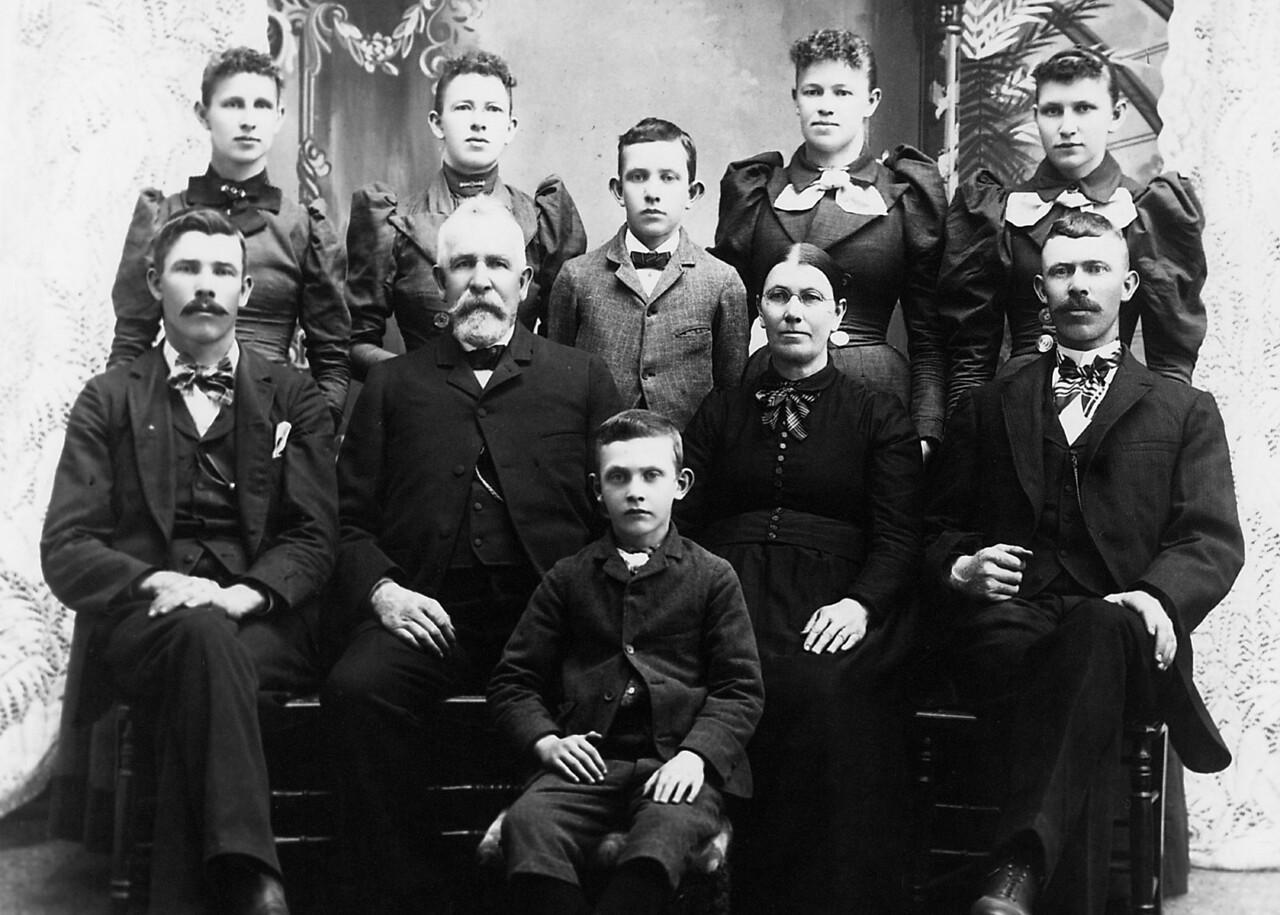 1897 Iffert family portrait