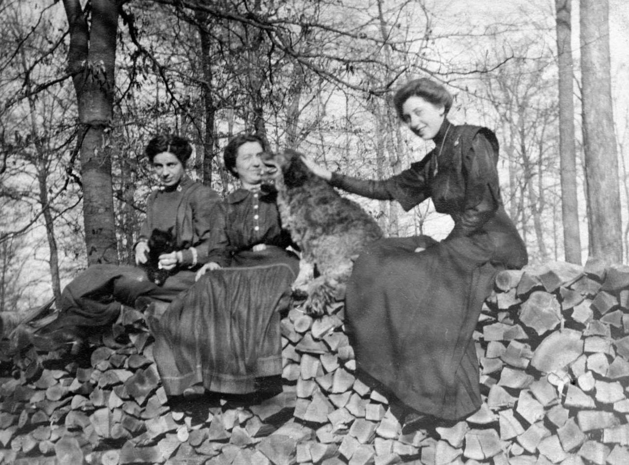 1920 Mazzela Juday Zimmerman and Nora Juday Ringwald