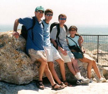 Family rock (maybe les baux)