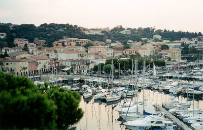 Cap Ferrat Harbor (view from hotel)