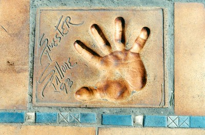 Stallone Nice Handprint