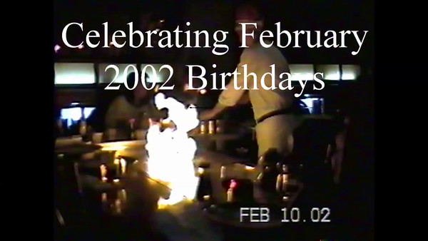 February 2002 Birthdays