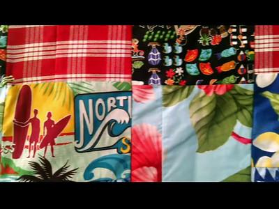 Eric's Hawaiian Blanket