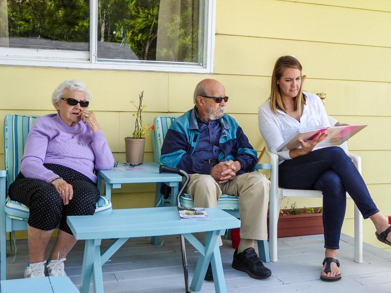 Georgie, Clyde, Beth