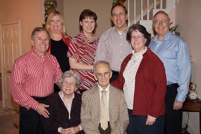 Grandma and Grandpa Williamson with Children