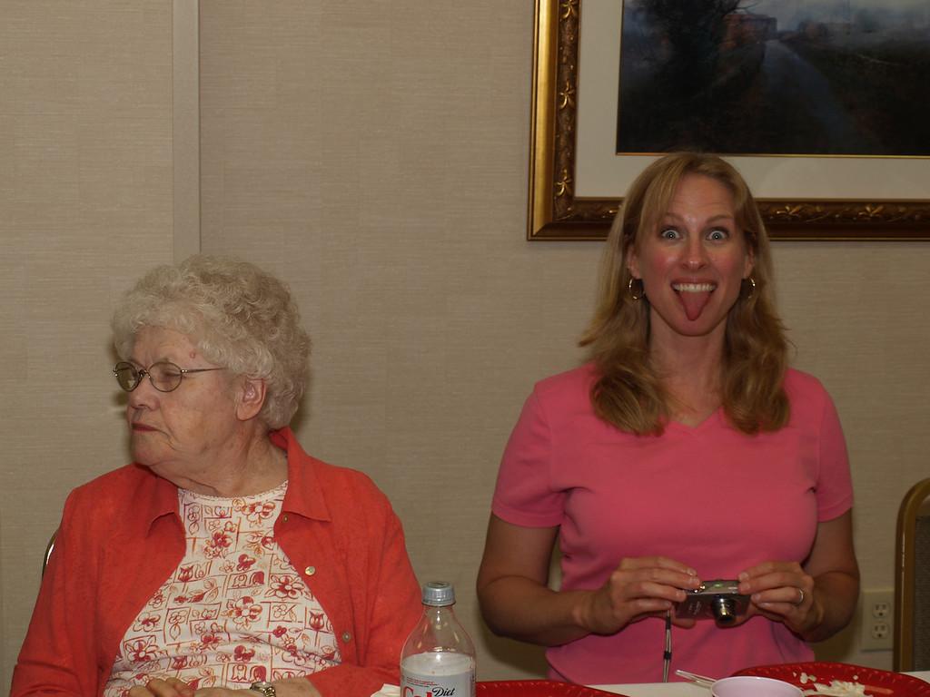Grandma Farquhar & #1 Grandaughter - Michelle Gregg Welcher