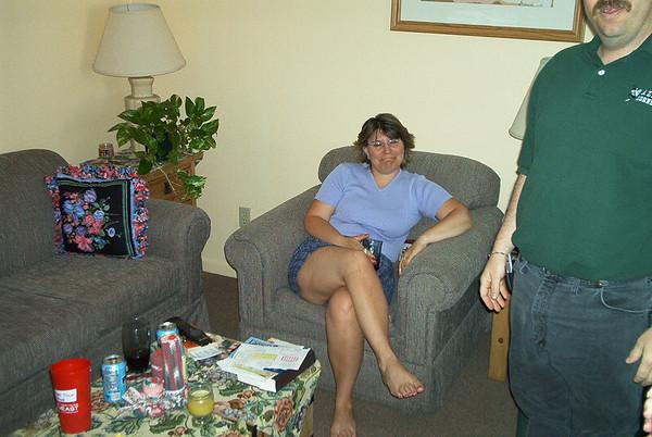 Karen & Grandma Visit Dallas