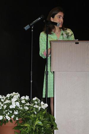 Commencement   speaker - former Ellison graduate, Dr. Nicole Orr