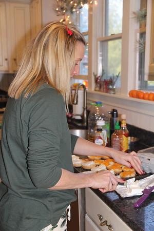 breakfast makings