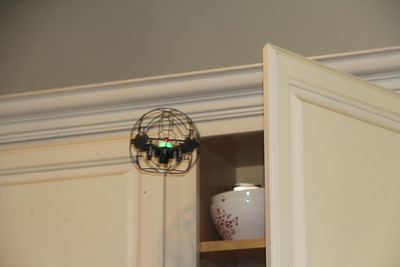 the UFO peers into the cabinet