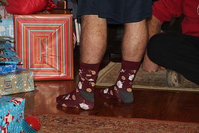 Wyatt's new socks