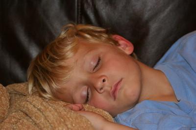 Wyatt excells at naps