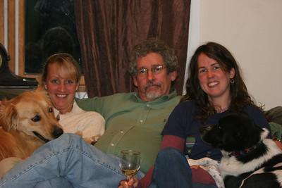 Rex, Caroline, Ed, Catherine, Bessie - Thanksgiving '06
