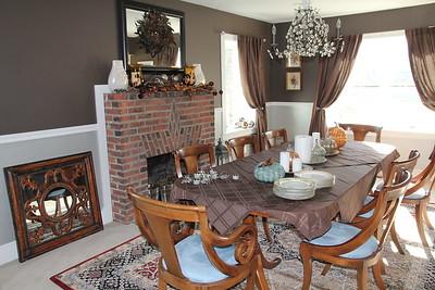 my parents dining room set at Caroline's home