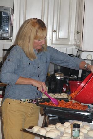 Caroline - a super chef!