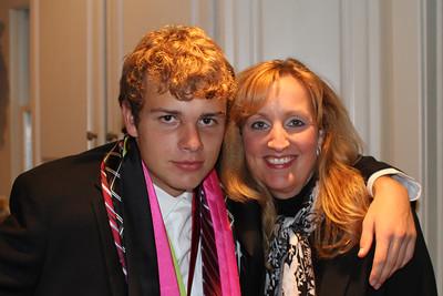 Caroline & Caleb before the Prom