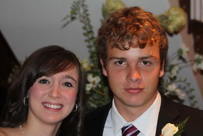 Morgan Falaska and Caleb before the Prom