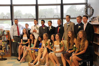 The Ellison School  8th grade graduating class  June 2014