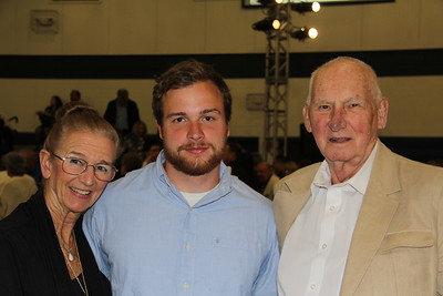 Caleb with his Grandparents
