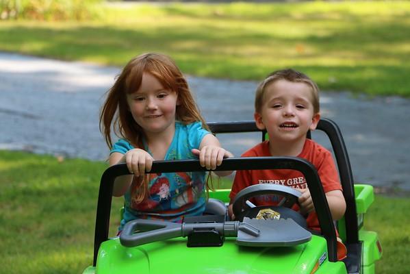 Byrne & Pearce Families 08/15/15