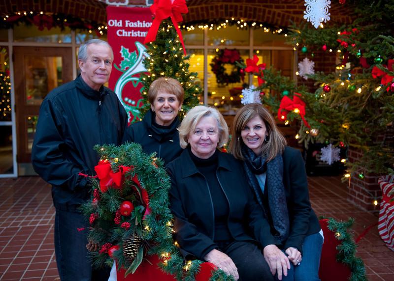 Jim, Angie, Karen and Michelle in Dahlonega GA over Thanksgiving weekend.