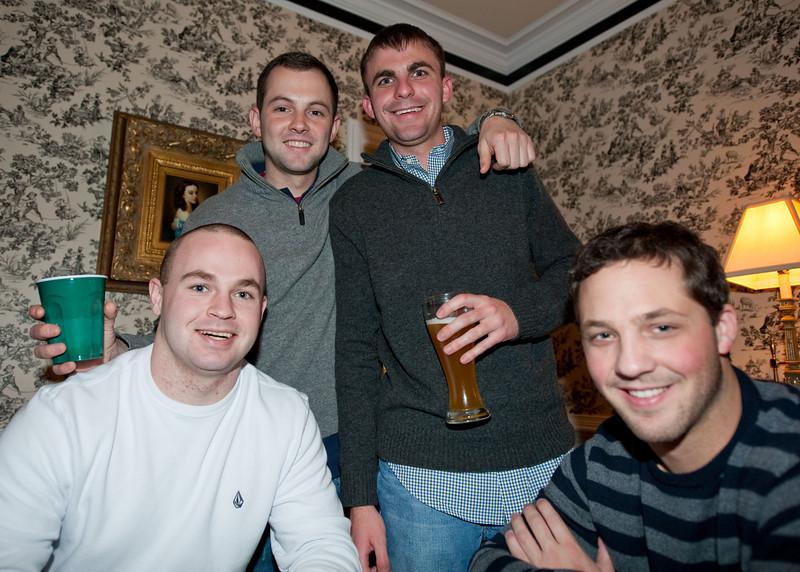 Chandler, William, Christopher and Robert on Christmas 2010