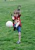 Future soccer star.