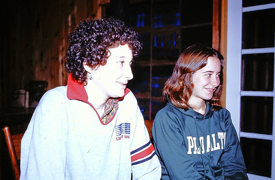 May 1981 in Bolinas. Aliza Knox, Liz Hartzel