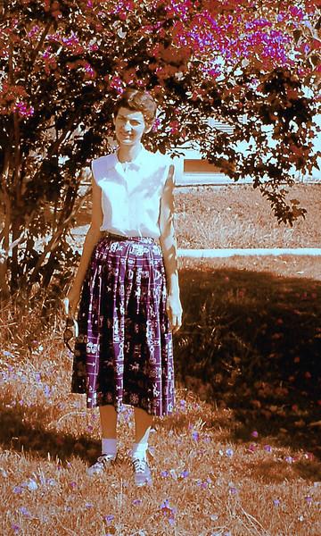 Marian in Degania Bet, May 1959