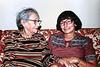 April 1980 at Gladys' house, SF. Ida Stamm, Friedl Baxter