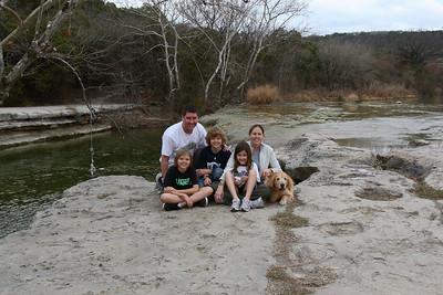 Family at Bull Creek