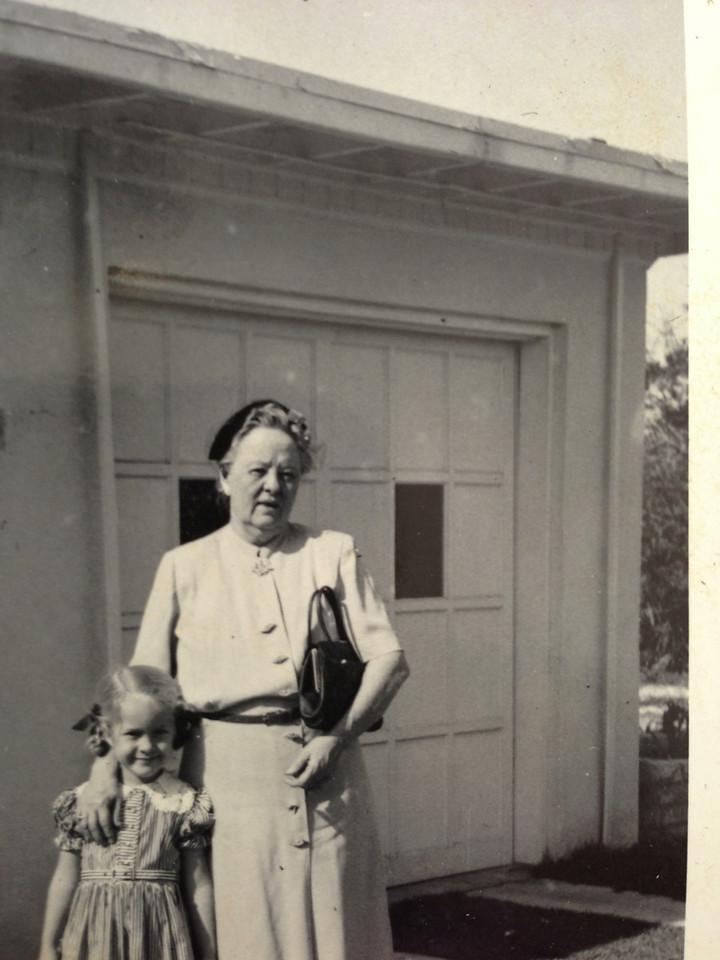Barbara with Grandma Hattie
