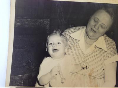 Barbara and Grandma Hattie