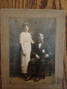Charles Vernon Edgar & Myrtle Miller (Barbara's grandparents)