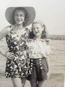 Lynne at Beverly Beach