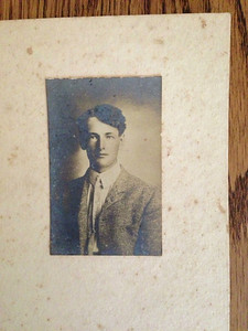 Carl Martin Naeseth (Barbara's grandfather)