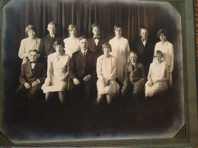 Manley Howard Naeseth (second from right) confirmation